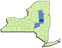 NY Counties Serviced for Guide Tours